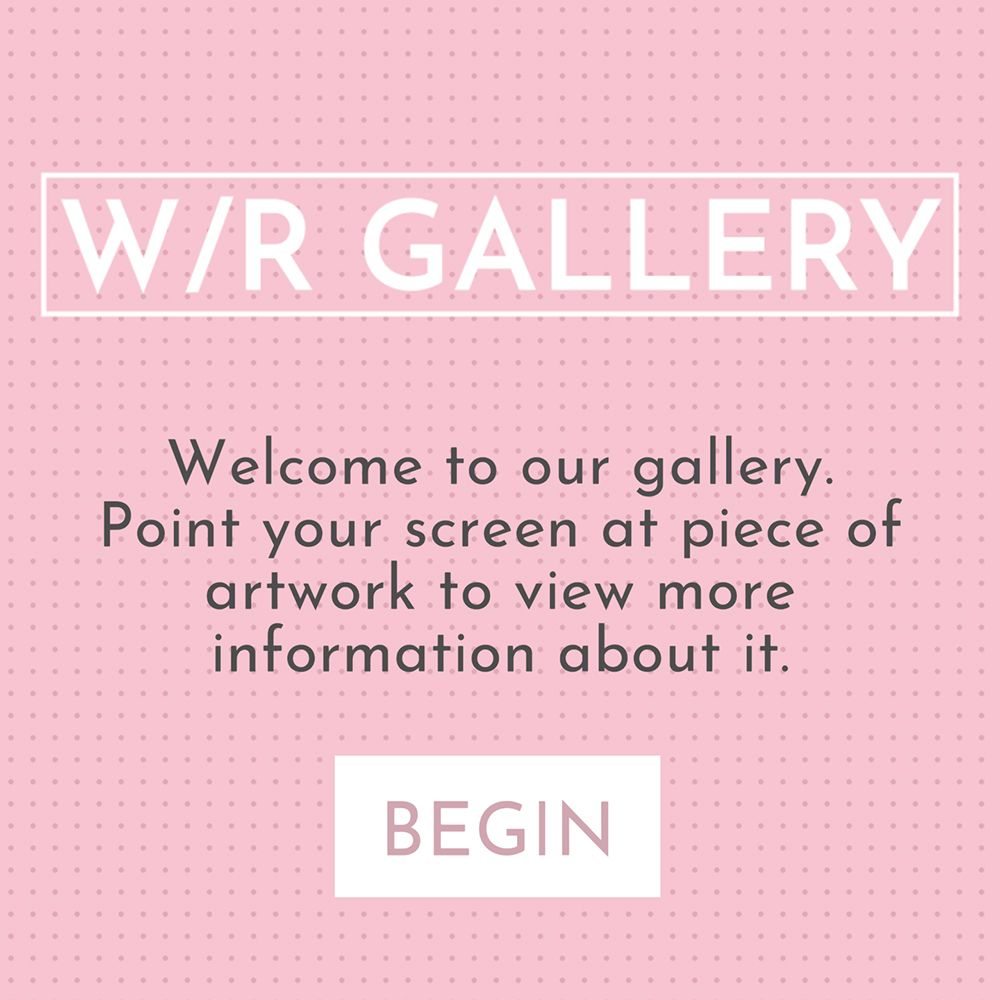 View the video of the AR Gallery Tour app
