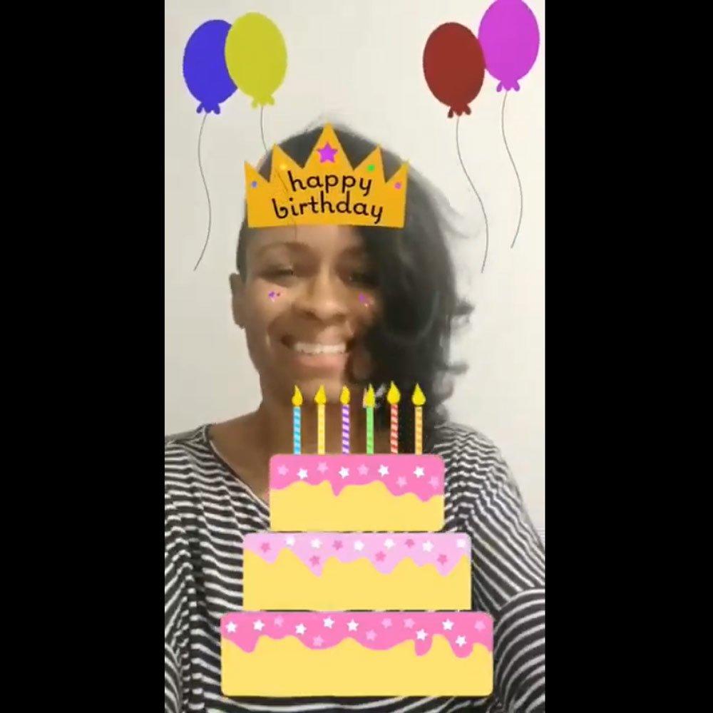 View the Happy Birthday Demo Video